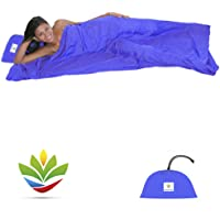 Hammock Bliss Sleep Sack - Travel and Camping Sleeping Sheet - Sleeping Bag Liner and Travel Pillow - Dream In Bliss