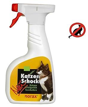 Norax Katzen Schock 500 Ml Vertreibungsmittel Gegen Katzen