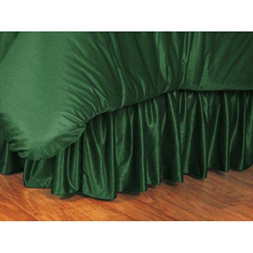 Green Full Bay Packers Bedskirt - NFL Bed Skirt Size: Full, NFL Team: Green Bay Packers