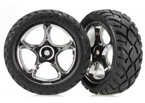 Traxxas 2479R Anaconda Tires Pre-Glued on 2.2