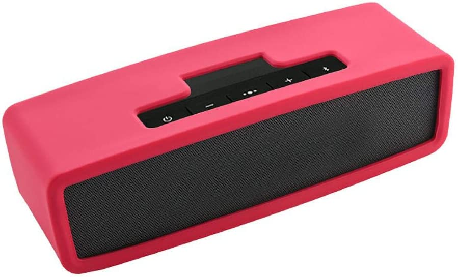 ORANGELD Suitable for Bose Mini 1//2 Portable Solid Color Soft Protection to Reduce Bump Wear Bluetooth Audio Silicone Sleeve Solid Color Shock Absorbing Protective Case