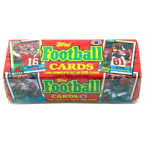 1990 Topps NFL Football Factory Sealed Complete 528 Card Set