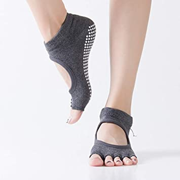 WZDYCZ 1 Par De Calcetines De Yoga Deportivos para Mujer ...
