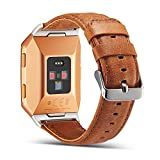 Fitbit Ionic Genuine Leather Replacement Bands, Marval...