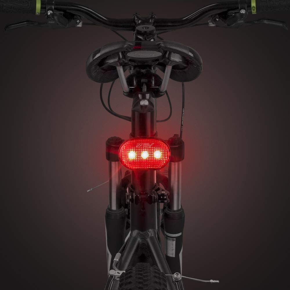 Easy to Install Bicycle LED Rear Lights BV Rear Bike Tail Light 2 Pack