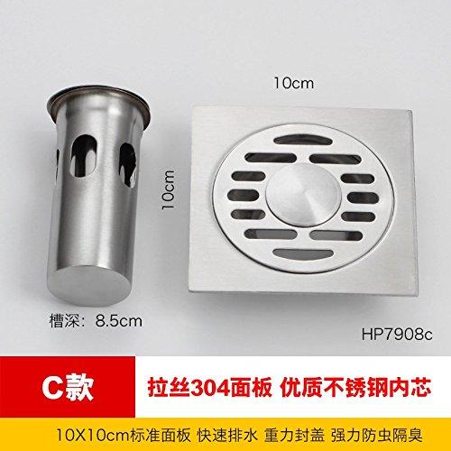 SDKKY Fondo de acero inoxidable Drain desodorante Core, Cuarto de ...