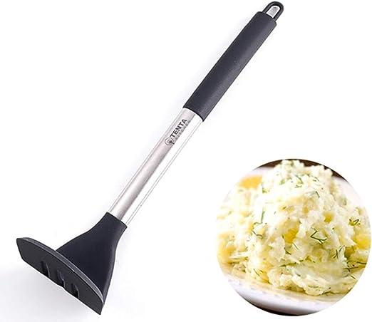 Compra TENTA KITCHEN Stainless Steel Smooth Potato Masher Ricer ...