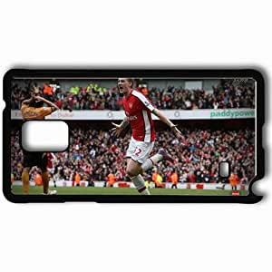 Personalized Samsung Note 4 Cell phone Case/Cover Skin Arsena 1 Black