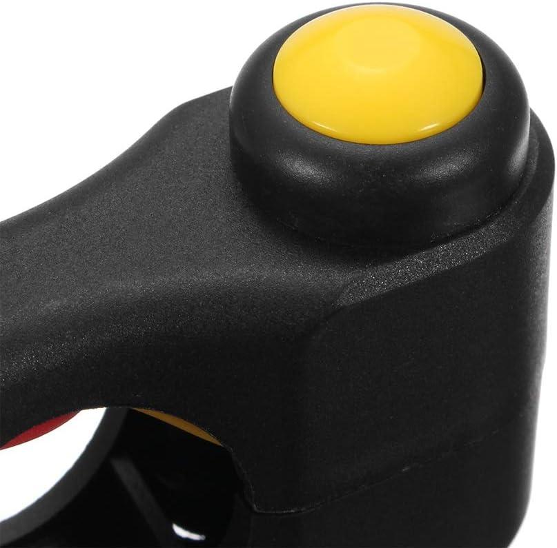 Motorrad Schalter 7//822 MM Motorrad Lenker Schalter 2 Tasten Motorrad Wasserdicht EIN AUS Startknopf f/ür YAMAHA HONDA MUMUWU Farbe : Red and Yellow