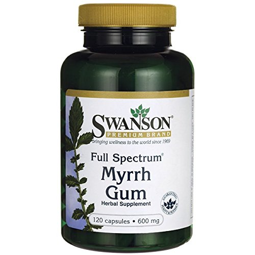Full Spectrum Myrrh Gum 600 Caps
