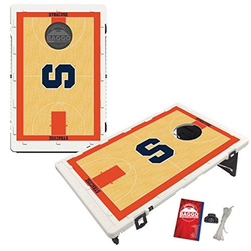 Syracuse University Orange Baggo Bean Bag Toss Cornhole Game Homecourt Design by Victory Tailgate