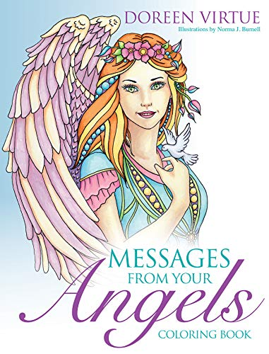 Messages from Your Angels Coloring Book (Doreen Virtue Angel Messages From Your Angel)