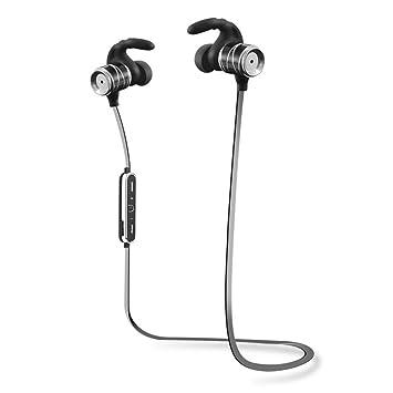 Unos auriculares inalámbricos Bluetooth,ligeros auriculares estéreo, micrófono incorporado y el impermeable,auriculares,auriculares intrauditivos con ...