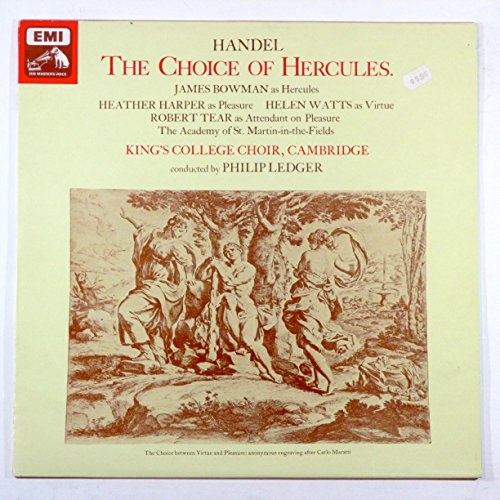 Handel: The Choice of Hercules / King's College Choir, Cambridge Conducted By Philip Ledger ()