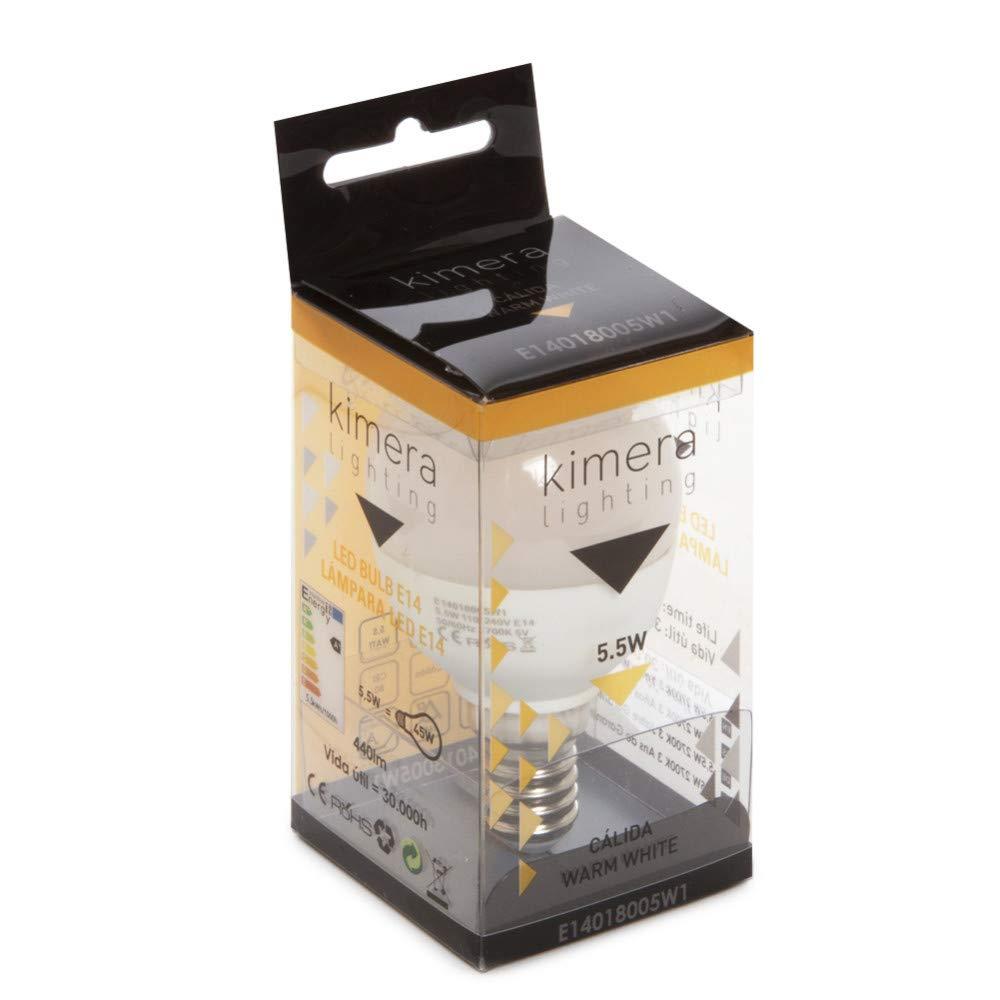 Greenice | Ampoule à Led 5,5W 110-240V E27 - Kimera | Blanc Neutre