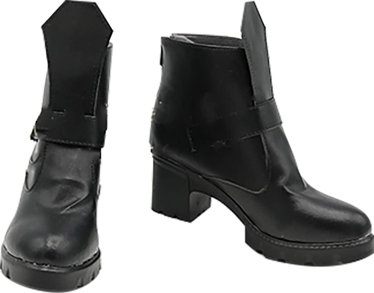 GSFDHDJS Cosplay Stiefel Schuhe for Black Butler Sebastian Michaelis