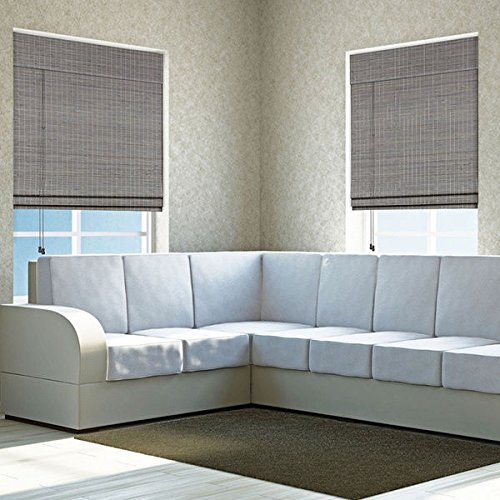 single-piece-privacy-grey-wash-bamboo-shade-27w-x-54h-curtain-energy-efficient-roman-style-roll-bamb