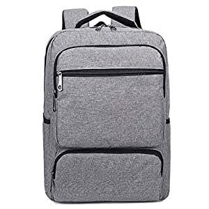CHENDX Handbags Fashion Computer Bag Men and Women Unisex Business Briefcase Casual Simple Travel Backpack (Color : Gray, Size : 41 * 29 * 12cm)