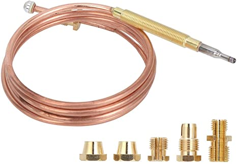 Gas Stove Universal Thermocouple Fireplace Replacement Kit Adaptors T