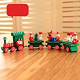 Small Train Christmas Decorations Christmas Woods Children Kindergarten Festive,Tuscom (A) Review
