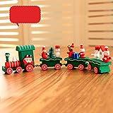 Small Train Christmas Decorations Christmas Woods Children Kindergarten Festive,Tuscom (A) Review