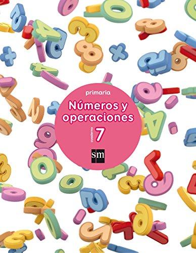 Cuaderno 7 de números y operaciones. Primaria - 9788467592771