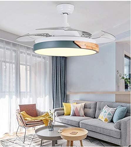 HhGold Plafonnier Ventilateur Silencieux Moderne Ventilateur ...