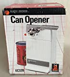 Black & Decker Countertop Electric Can Opener EC32D White
