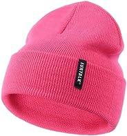FURTALK Toddler Knitted Winter Hat Boys Girls Acrylic Beanie Hat Baby Kids Cuffed Winter Hats