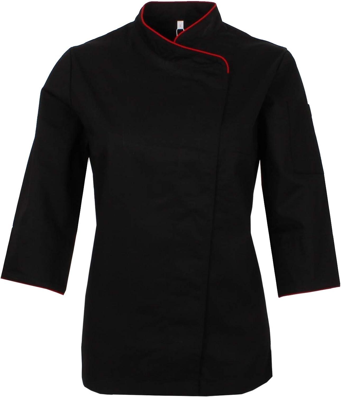 MISEMIYA Chef Giacche Signora Maniche Lunghe Ref.703