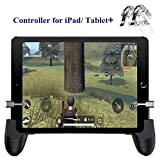 PUBG Controller for iPad/Tablet - Aovon [Newest Upgrade Version] Sensitive L1R1 Shoot Aim Game Trigger Joystick Gamepad Grip 4.5-12.9 inch Tablet & Smartphone, Gift for Kids and Players