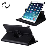 Tuff-Luv Rotating Leather Case Cover & Stand for Apple iPad 9.7 2017 & Air 2 - Black