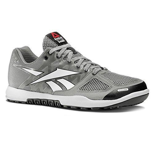Reebok Women's Crossfit Nano 2.0 Training Shoes (7.5 B(M) US, Grey White)