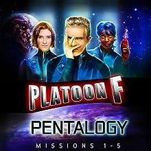 Platoon F: Pentalogy Audiobook by Christopher P. Young, John P. Logsdon Narrated by John P. Logsdon