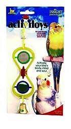 JW Pet Company Activitoys Hour Glass Mirror Bird Toy