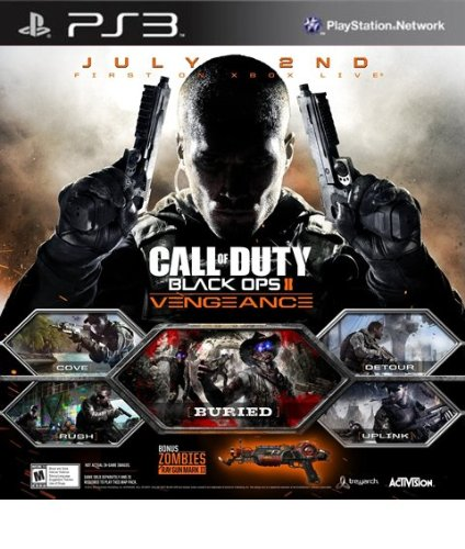 Call of Duty Black Ops II: Vengeance DLC - PS3 [Digital Code]