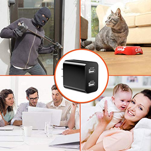 [Upgraded 2019] Spy Hidden Camera with Remote Viewing, USB Charger WiFi Nanny Camera 1080P HD H.264 with Motion Detection for Home Office Security Surveillance, No Audio by CIXI (Image #7)