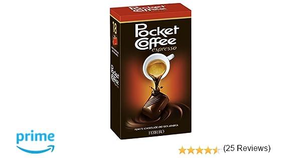 FERRERO Pocket Coffee Espresso, 18 pcs (225g): Amazon.es: Alimentación y bebidas