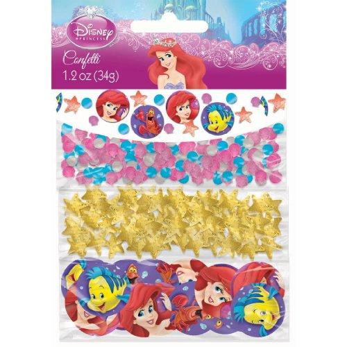 Disney The Little Mermaid Value Confetti (Multi-colored) Party Accessory, Health Care Stuffs