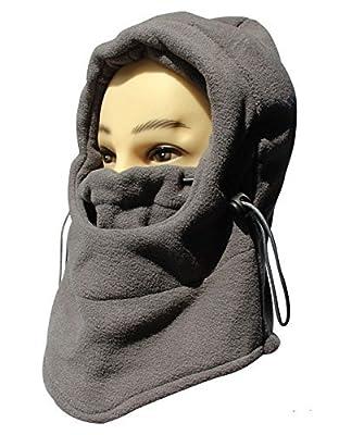 Fleece Balaclavas Hood Hat Multifunction Windproof Full Face Cover Face Mask Neck Warmer Ski Hood Snowboard Mask Wind Protector, Advance Fleeces