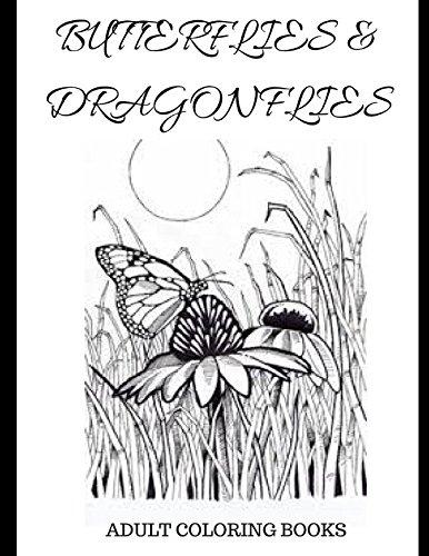 Adult coloring books: Butterflies & dragonflies pdf epub