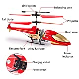 EXCOUP Remote Control Helicopter 3.5 Channel RC Helicopter Remote Helicopter with Gyro Gifts Toys for Boys Kids