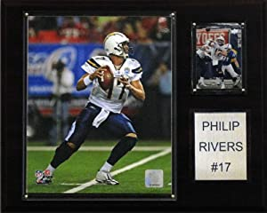NFL Philip Rivers San Diego Chargers Player Plaque