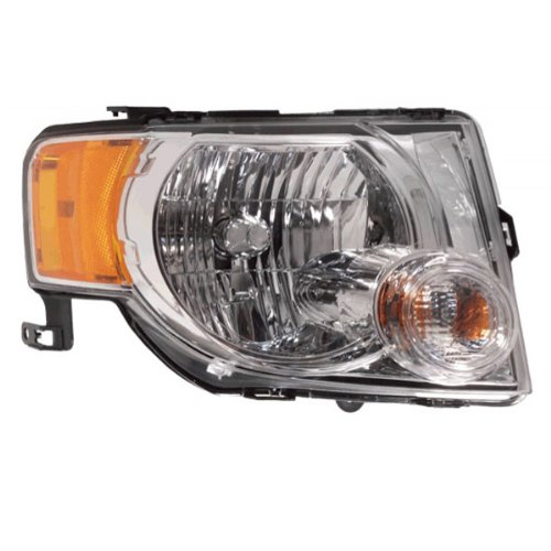 Koolzap For 08-12 Escape & Hybrid Headlight Headlamp Head Light Lamp Right Passenger Side RH ()