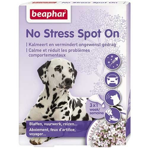 Beaphar No Stress - Chien - 3 Pipettes