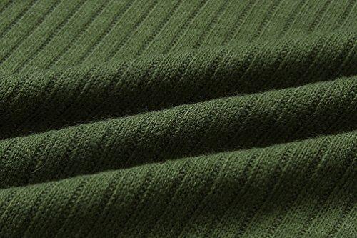 Sciolto Manica Autunno Lunga Verde WanYang Maglione Lunga Inverno Pullover Maglieria Tops Donna YqwzF