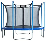 Upper Bounce 10 FT. Trampoline & Enclosure Set equipped with the New
