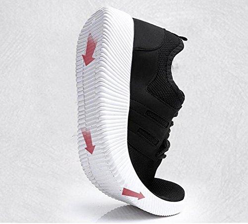 Elwow Chaussures de Running pour Homme Noir bEE0Oc