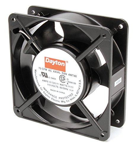 Dayton 4WT48 Fan, Axial, 70 CFM, 115 V