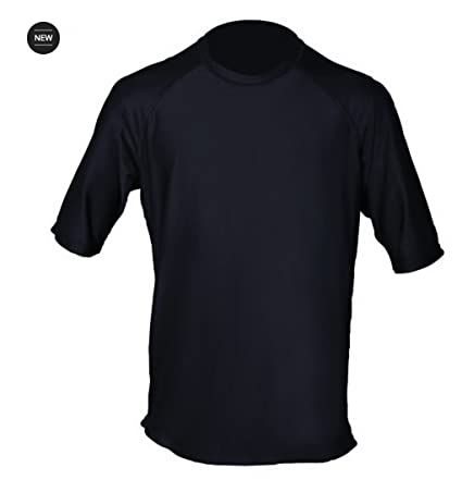 873a371f7e36 Loose Fit Swim Shirts For Men - Short Sleeve UV 50 + Sun Protection Swimwear  -